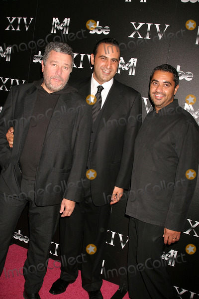 Sam Nazarian Photo - Sbe Announces the Grand Opening of Xiv Xiv Restaurant West Hollywood CA 101408 Philippe Starck - Xiv Restaurant Designer Sam Nazarian and Chef Michael Mina Photo Clinton H Wallace-photomundo-Globe Photos Inc