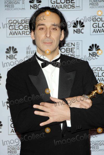 Alexandre Desplat Photo - the 64th Golden Globe Awards (Pressroom) at the Beverly Hilton Hotel Beverly Hills CA 01-15-2007 Photo by David Longendyke-Globe Photos 2007 Alexandre Desplat
