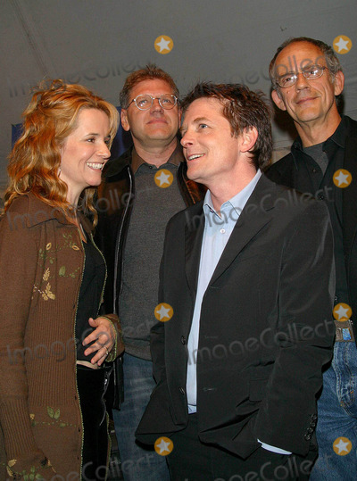 Lea Thompson Photo - Back to the Future Trilogy Dvd Launch Party Courthouse Square Universal City CA 121602 Photo by Milan RybaGlobe Photo Inc 2002 Lea Thompson Michael J Fox Robert Zemeckis and Christopher Lloyd