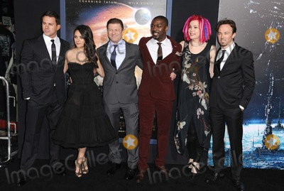 Lana Wachowski Photo - Mila Kunis Channing Tatum Sean Bean David Ajala Lana Wachowski Rick Gurry attending the Los Angeles Premiere of Jupiter Ascending Held at the Tcl Chinese Theatre in Hollywood California on February 2 2015 Photo by D Long- Globe Photos Inc