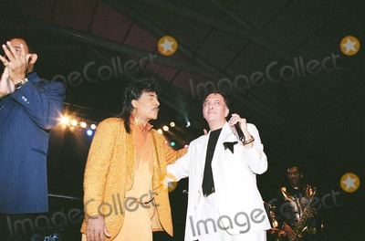 Little Richard Photo - Little Richard and Richard Nader at Mohegan Sun Casino Connecticut Mark Kasner-Globe Photos Inc