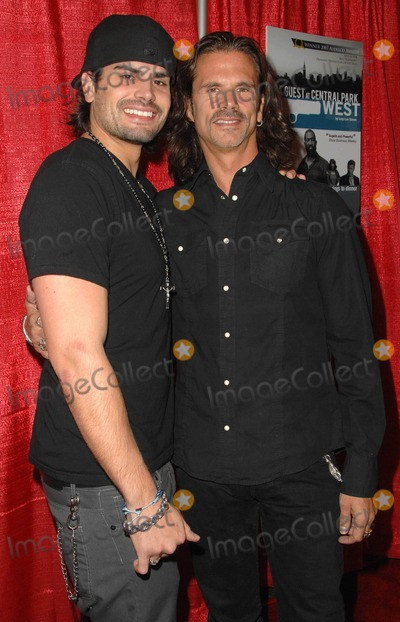 AJ Lamas Photo - Premiere of the Guest at Central Park West at the Writers Guild Theatre in Beverly Hills California January 18 2010 Photo by Scott Kirkland-Globe Photos  2010 Aj Lamas and Lorenzo Lamas