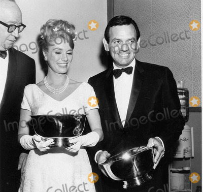 Inger Stevens Photo - Inger Stevens with Daniel Janssen at the Tv Guide awardssupplied by Globe Photos Inc
