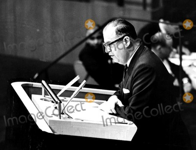 ABBA Photo - Abba Eban -Israeli Minister of Foreign Affairs June 1967 IpolGlobe Photos Inc Obit