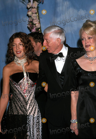 Aaron Spelling Photo - Carousel of Hope Ball Beverly Hilton Hotel Beverly Hills CA 10-28-2000 Photo by Nina Prommer-Globe Photos Inc 2000 Aaron Spelling with Wife Candy Spelling and Daughter Tori Spelling