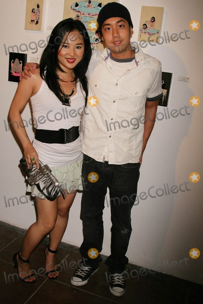Amy Rider Photo - Kill Pixie Hosted by Tim Roth Merry Karnowsky Gallery Los Angeles California 05-30-2009 Amy Rider and Allen Evangelista Photo Clinton H Wallace-photomundo-Globe Photos Inc