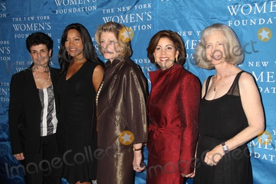 Agnes Gund Photo - Ana Loliveriagrace Hightower Agnes Gund Carolyn Buck Luce Susan Rcullman at NY Womens Foundations Stepping Out and Stepping Upannual Gala at Gotham Hall New York City 12-01-2010 Photo by John BarrettGlobe Photos Inc2010