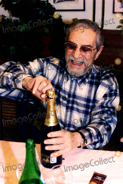 Nino Manfredi Photo - -06-2004 Retrospective of Nino Manfrediitalian Actor Who Died Today Ay the Age of 83 Years Old Nino Manfredi Celebrating His 80th Birthday at the Restaurant Pastarello  Nino Manfredi Ninomanfrediretro Photo BylapresseGlobe Photos Inc