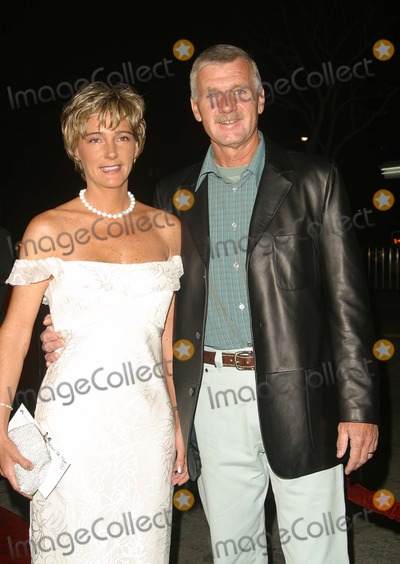 Tom Brown Photo - Tom Brown Jr and His Wife Debra- K29488np- the Hunted Premiere- Mann Village Theatre Los Angeles CA- 03112003- Photo by Nina PrommerGlobe Photos Inc