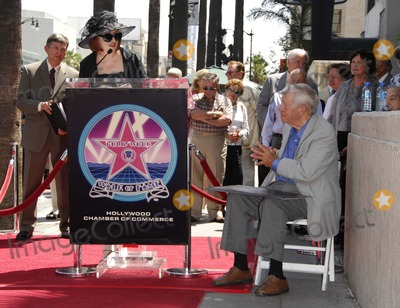 Charles Champlin Photo - Pat Morrisson and Charles Champlin During a Ceremony Honoring Film Critic Charles Champlin with a Star on the Hollywood Walk of Fame on August 3 2007 in Los Angeles Photo by Michael Germana-Globe Photosinc