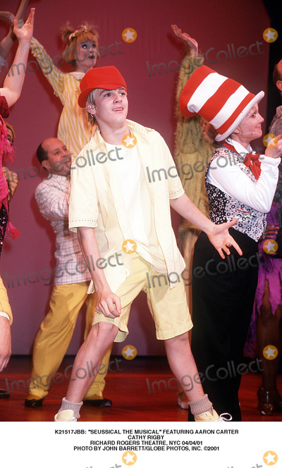 Cathy Rigby Photo -  Seussical the Musical Featuring Aaron Carter Cathy Rigby Richard Rogers Theatre NYC 040401 Photo by John BarrettGlobe Photos Inc