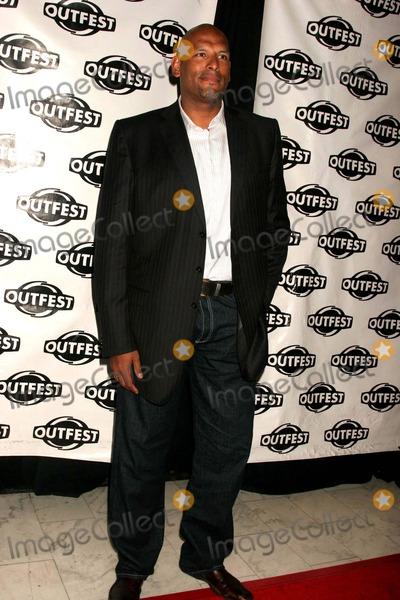 John Amaechi Photo - Outfest 2008 -the 26th Annual Los Angeles Gay  Lesbian Film Festival Orpheum Theatre Los Angeles CA 070908 John Amaechi Photo Clinton H Wallace-photomundo-Globe Photos Inc