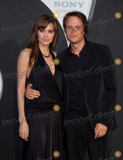 August Diehl Photo - Angelina Jolie and Her German Co-star August Diehl attends the German Premiere For the New Film Salt at Cinestar Theatre Sony Centerberlin Germany 08-18-2010 Photo by Alec Michael-Globe Photos Inc 2010