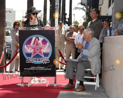 Charles Champlin Photo - Pat Morrisson and Charles Champlin and Leron Gubler During a Ceremony Honoring Film Critic Charles Champlin with a Star on the Hollywood Walk of Fame on August 3 2007 in Los Angeles Photo by Michael Germana-Globe Photosinc