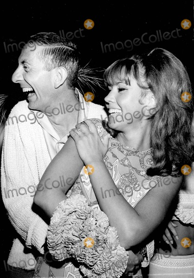 Aaron Spelling Photo - Aaron Spelling with Jackie Lane Supplied by Globe Photos Inc