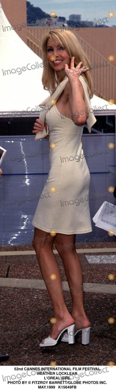 Heather Locklear Photo - 0599 52nd Cannes International Film Festival Heather Locklear Loreal Girl Photo by Fitzroy BarrettGlobe Photos Inc