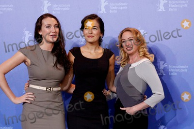 Anna Anissimova Photo - Actresses Anna Anissimova Camilla Belle and Virginia Madsen the Photocall For Father of Invention at the Berlin Grand Hyatt Hotel Berlin Germany 02-15-2010 Photo by Alec Michael-Globe Photos Inc 2010