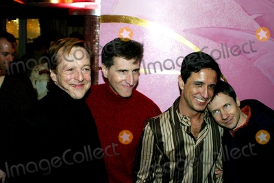 Paul Rudnick Photo - Sd0127 Release Party For Why the Long Face Craig Chesters Autobiography the Flamingo Roomnew York City Photorick MacklerrangefindrersGlobe Photos Inc 2003 Edward Hibbert Paul Rudnick Craig Chester John Cameron Mitchell