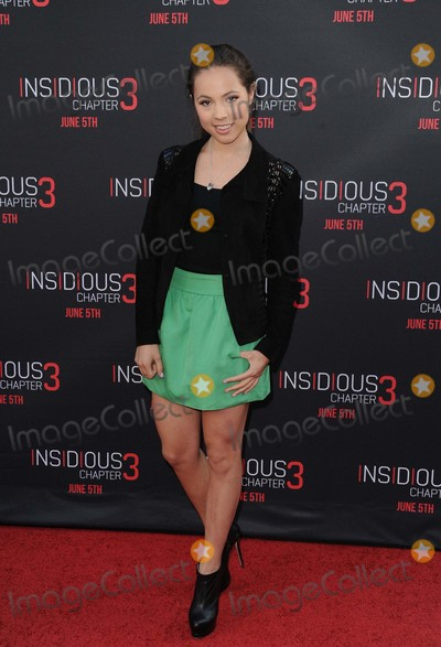 Aneliz Aguilar Photo - Aneliz Aguilar attending the Los Angeles Premiere of Insidious Chapter 3 Held at the Tcl Chinese Theatre in Hollywood California on June 4 2015 Photo by D Long- Globe Photos Inc