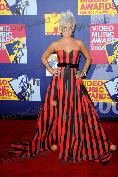 Alecia Moore Photo - the 2008 Mtv Music Video Awards Arrivalsheld at Paramount Pictures Studio Lothollywood California 09-07-2008 Photo by Mark Chilton-richfoto-Globe Photos Inc2008 Pink Alecia Moore
