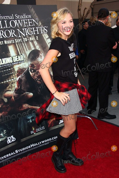 Audrey Whitby Photo - Audrey Whitby attends Halloween Horror Nights Eyegore Awards at Universal Studios September 20 2013 in Universal City Causaphoto TleopoldGlobephotos