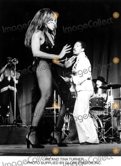 Tina Turner Photo - Ike and Tina Turner Photo Supplied by Globe Photosinc