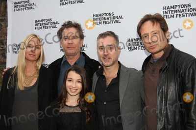 Anthony Fabian Photo - The Hamptons International Film Festival 2013 East Hampton NY October 11 2013 Photos by Sonia Moskowitz Globe Photos Inc 2013 (L-R) Hope Davis Timothy Hutton Olivia Steele Falconer (Front) Anthony Fabian and David Duchovny