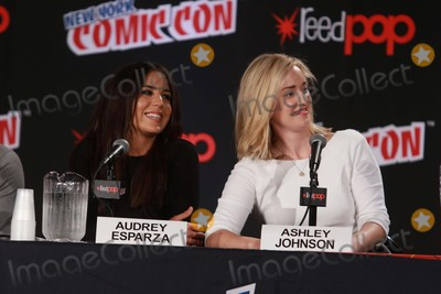 Audrey Esparza Photo - Audrey Esparzaasley Johnson attends the Blindspot Panel at Day 4 of NY Comic Con at Javits Center 10-11-2015 John BarrettGlobe Photos