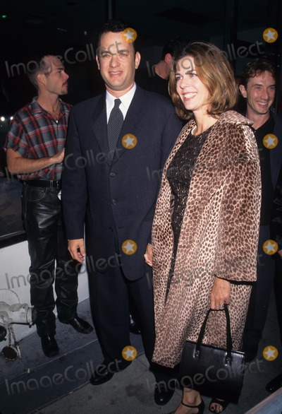 Andrea Martin Photo - Tom Hanks with Wife Rita Wilson Nude Nude Totally Nude - Andrea Martin Show at Canon Theatre 1996 Photo by Lisa Rose-Globe Photos Inc