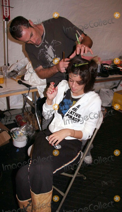 Ashley Paige Photo - Ashley Paige Spring 2006 Collection - Backstage Mercedes-benz Spring 2006 LA Fashion Week Smashbox Studios Culver City CA 10-18-2005 Photo Clintonhwallace-photomundo-Globe Photos Inc Caroline Damore