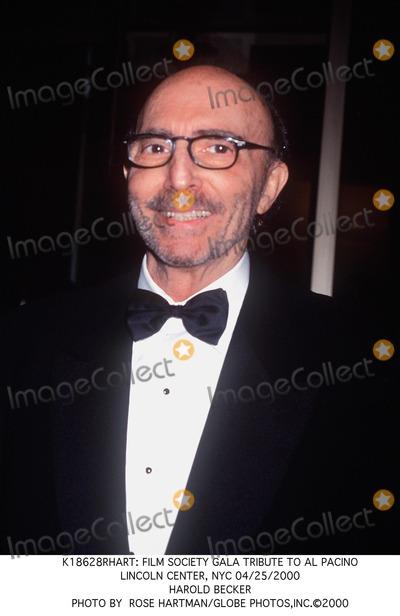 Al Pacino Photo -  Film Society Gala Tribute to AL Pacino Lincoln Center NYC 04252000 Harold Becker Photo by Rose HartmanGlobe Photosinc