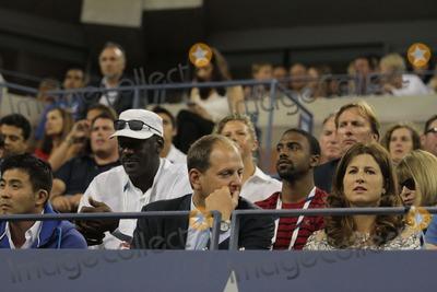 Michael Jordan Photo - Michael Jordanmirka Federer Celebrities at Day 2 of Tennis Us Open at Arthur Ashe Stadium 8-26-2014 John BarrettGlobe Photos
