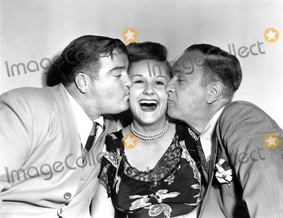 Lou Costello Photo - Lou Costello Margaret Whiting and Bud Abbott Globe Photos Inc