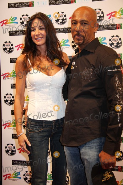 Montel Williams Photo - Ante Up For Africa - Tournament  Poker Benefit For Darfur at Rio Suites Hotel and Casino in Las Vegas  Nevada 07-02-2008 Photo by Ed Geller-Globe Photos Inc Montell Williams and Wife Tara Fowler