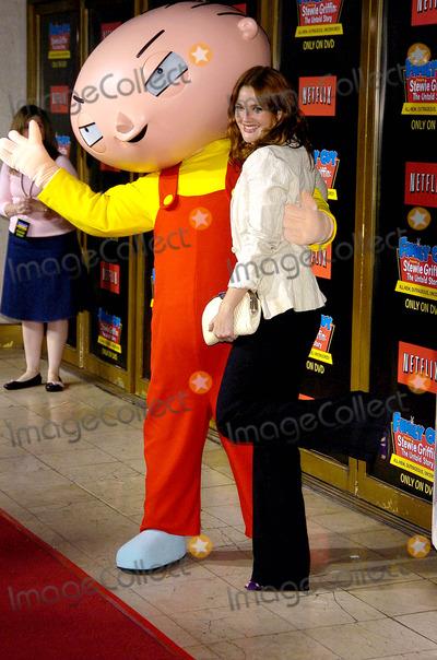 Stewie Griffin Photo - Dvd Release of Family Guy Presents Stewie Griffin the Untold Story Mann National Theater Westwood CA 09-27-05 Photo David Longendyke-Globe Photos Inc 2005 Imagedrew Barrymorestewie