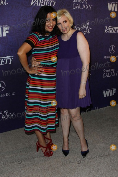 Lena Dunham Photo - Jenni Konner Lena Dunham Attend Variety and Women in Film Annual Pre-emmy Celebration on August 23rd 2014 at Gracias Madre in West Hollywoodcalifornia USA Photo tleopoldGlobephotos