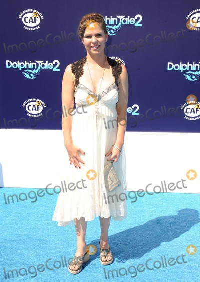 Abby Stone Photo - Abby Stone attending the Los Angeles Premiere of Dolphin Tale 2 Held at the Regency Village Theater in Westwood California on September 7 2014 Photo by D Long- Globe Photos Inc
