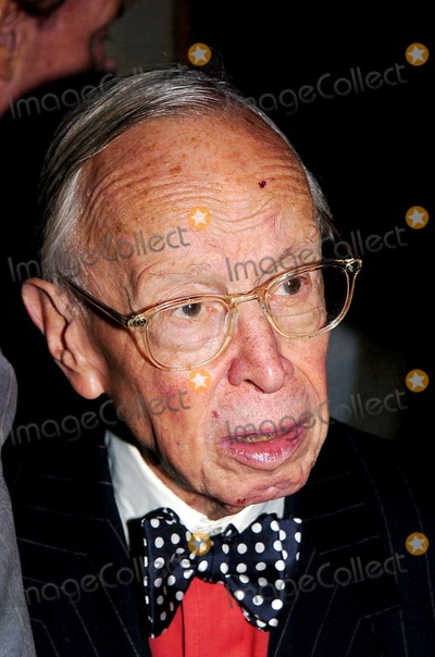 Arthur Schlesinger Jr Photo - Salute to Democracy Dinner Honoring the Birthdays of Arthur Schlesinger Jr and Kenneth Galbraith Plaza Hotel Fifth Ave New York City 10182004 Photo John Krondes  Globe Photos Inc 2004 Stephen Schlesinger