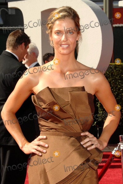 Anna Rawson Photo - Anna Rawson attends the 2009 Espy Awards Red Carpet Arrivals Held at the Nokia Theater in Los Angeles California on July 15 2009 Photo by David Longendyke-Globe Photos Inc 2009