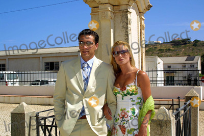 Hugo Viana Photo - 20030628 ALBUFEIRA PORTUGAL Sporting star Beto and wife Andreia Filipa arriving Orada chapel in Albufeira Algarve to Hugo Viana and Raquel Gomes marriage The portuguese star of NewCastle 20 invited to the cerimony only the family and some close friends as Beto ex-collegue from Sporting Raquel is natural from Armacao de Pera Algarve The honeymoon will be in MaldivasPHOTO CITYFILESGLOBE PHOTOS INCK31480
