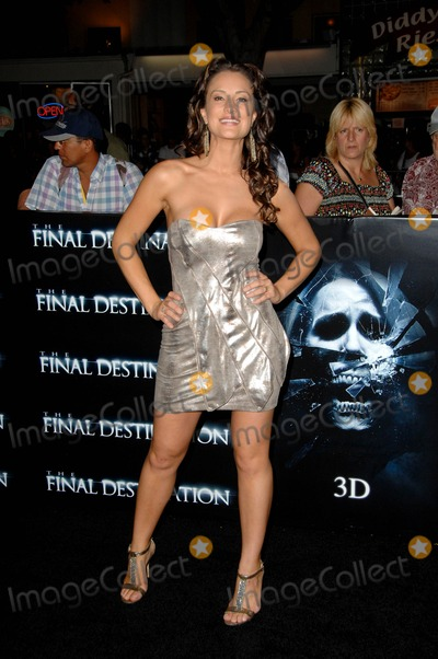 America Olivo Photo - America Olivo During the Premiere of the New Movie From Warner Bros Pictures the Final Destination Held at the Mann Village Theatre on August 27 2009 in Los Angeles Photo Michael Germana - Globe Photos Inc