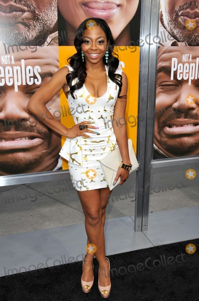 Bresha Webb Photo - Bresha Webb attending the Los Angeles Premiere of Peeples Held at the Arclight Cinerama Dome in Hollywood California on May 8 2013 Photo by D Long- Globe Photos Inc
