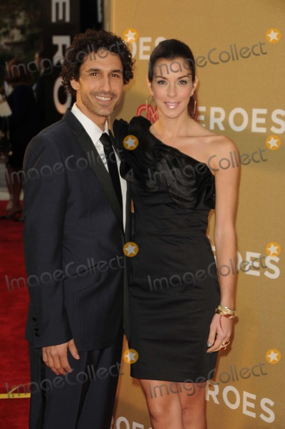Jenna Morasca Photo - Ethan Zohn Jenna Morasca attending the 2011 Cnn Heroes an All-star Tribute Held at the Shrine Auditorium in Los Angeles California on 121111 Photo by D Long- Globe Photos Inc