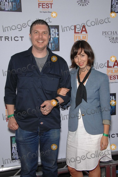 Amanda Street Photo - Kent Osborne and Amanda Street during the Los Angeles Film Festivals premiere of the new movie from FilmDistrict DONT BE AFRAID OF THE DARK held at the Regal Cinemas L A Live on June 26 2011 in Los AngelesPhoto Michael Germana  - Globe Photos Inc 2011