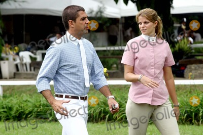 Athina Onassis Roussel Photo - Alvaro Afonso de Miranda Neto (Doda) and Athina Onassis Roussel attend at the Equestrian Summer Tournament in the Santo Amaro Club According to Brazilian press the young couple will marry in December 2005 SAO PAULO BRAZIL2-26-2005PHOTO HUMBERTO FRANCO-CITYFILES-GLOBE PHOTOS INC  2005K42028