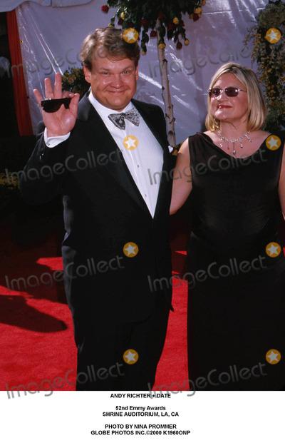Andy Richter Photo - Andy Richter  Date 52nd Emmy Awards Shrine Auditorium LA CA Photo by Nina Prommer Globe Photos Inc2000