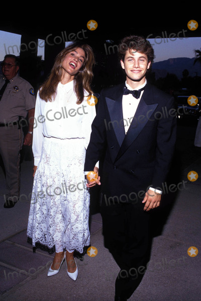 Kirk Cameron Photo - Kirk Cameron with Girlfriend Chelsea Noble 1990 Photo by Bob NobleGlobe Photos