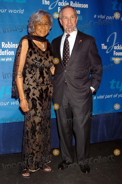 Rachel Robinson Photo - the Jackie Robinson Foundation Honors Charles B Rangel and John a Thain at the Waldorf Astoria Hotel in New York City 03-07-2005 Photo by John Krondes-Globe Photos Inc 2005 Michael Bloomberg and Rachel Robinson
