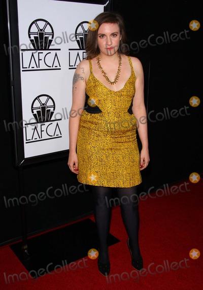 Lena Dunham Photo - January - 2011 Los Angeles - Lena Dunham the 38th Annual Los Angeles Film Critics Association Awards Held at the Intercontinental Hotel photo Tleopoldglobephotos