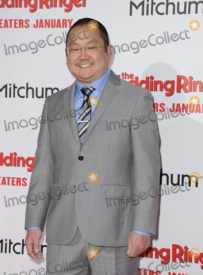 Aaron Takahashi Photo - Aaron Takahashi attending the Los Angeles Premiere of the Wedding Ringer Held at the Tcl Chinese Theatre in Hollywood California on January 6 2015 Photo by D Long- Globe Photos Inc